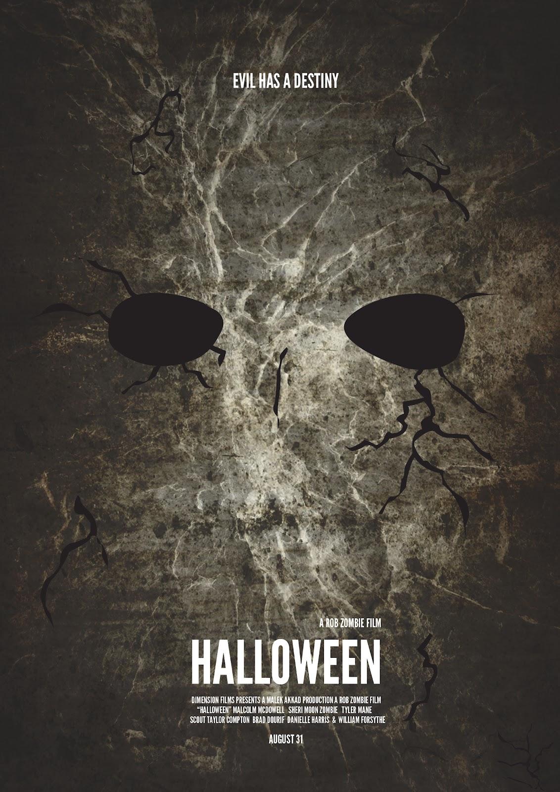 The Hall Of Design: Minimalist Movie Posters: Halloween Minimalist ...