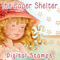 The paper place digital stamps