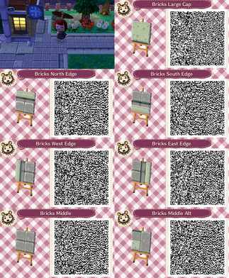 Let 39 s play animal crossing new leaf qr codes prt 1 for Modern house acnl