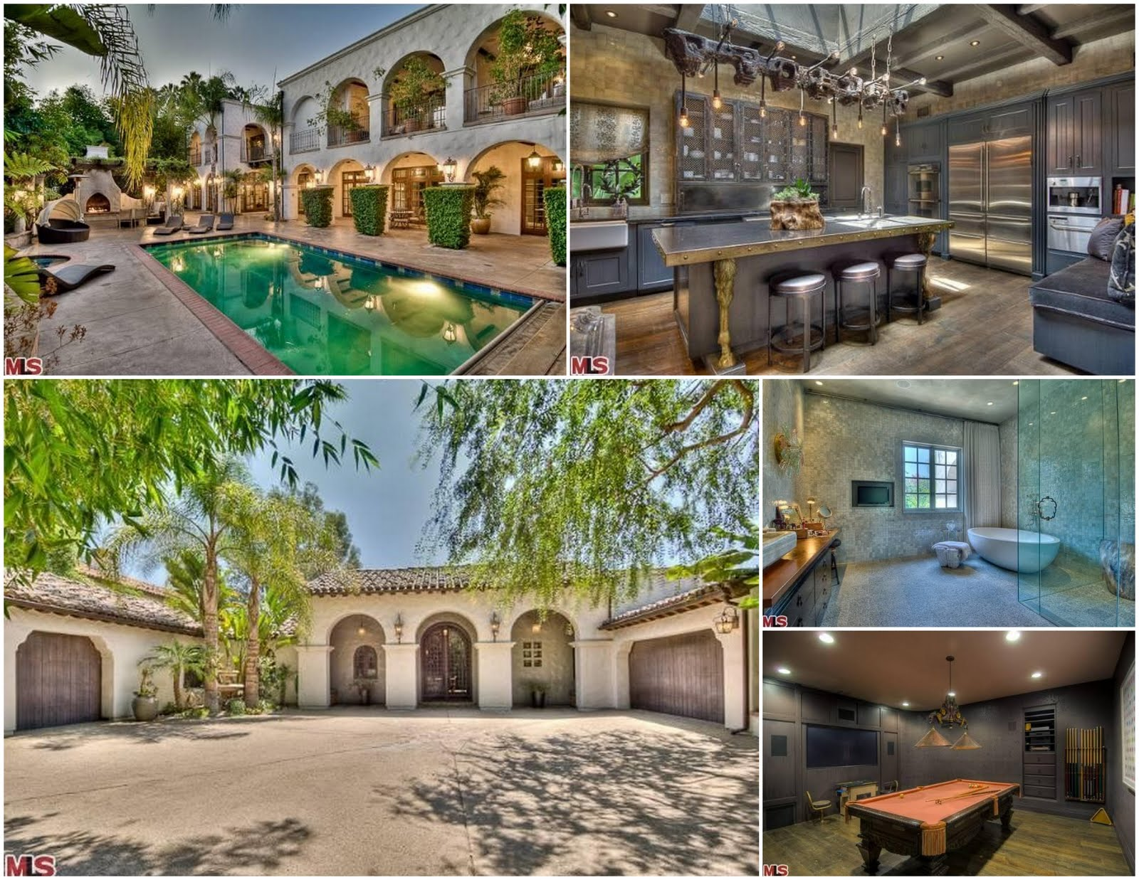 Celebrity real estate hillary duff hopes to finally sell Celebrity real estate pictures