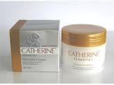 Catherine Placenta Cream 100ml.สูตร 3 in 1 เป็นได้ทั้ง day, night, eye cream กระชับ เนียน