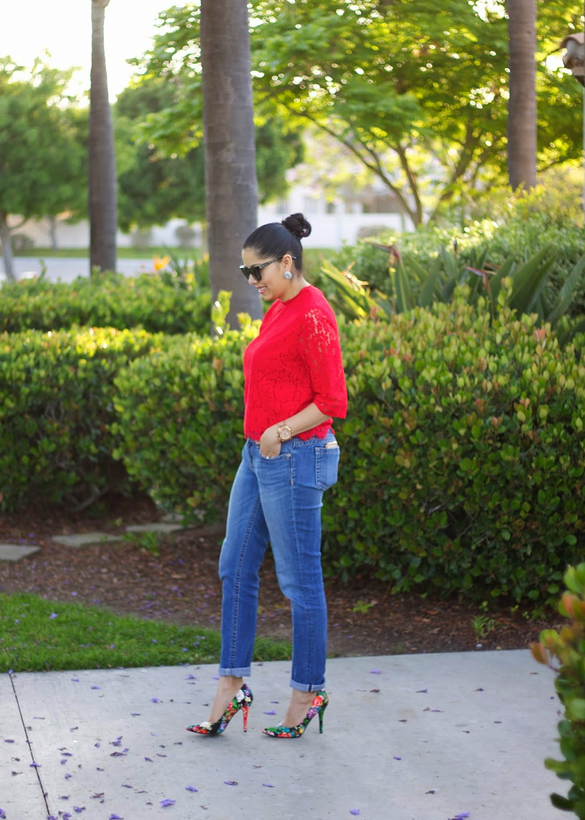 Missme jeans, charlotte russe blogger, miss me jeans, how to wear rolled up jeans, classy blogger, mexican fashion blogger