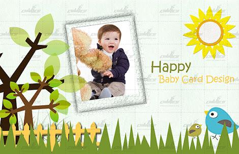 Happy baby tarpaulin design