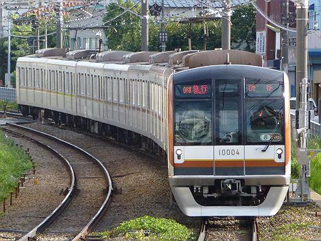 東急東横線 急行 渋谷行き1 東京メトロ10000系