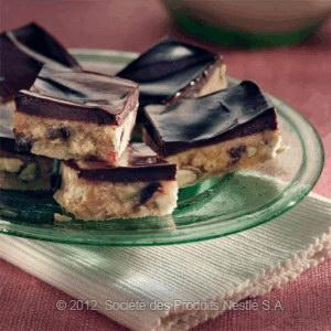 Biscuits And Chocolate Slices Recipe