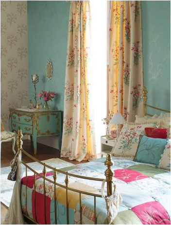 Key interiors by shinay vintage style teen girls bedroom for French country girls bedroom ideas