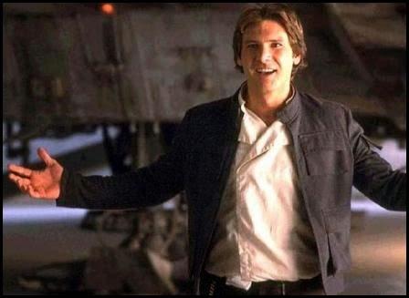 """Han Solo en """"El imperio contraataca"""" (1980)"""