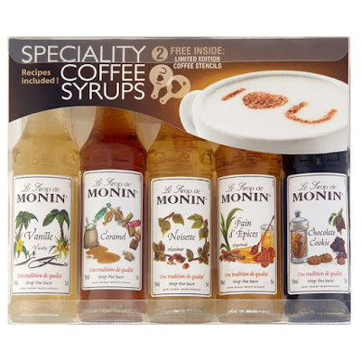 Monin Syrups Flavoured Pack