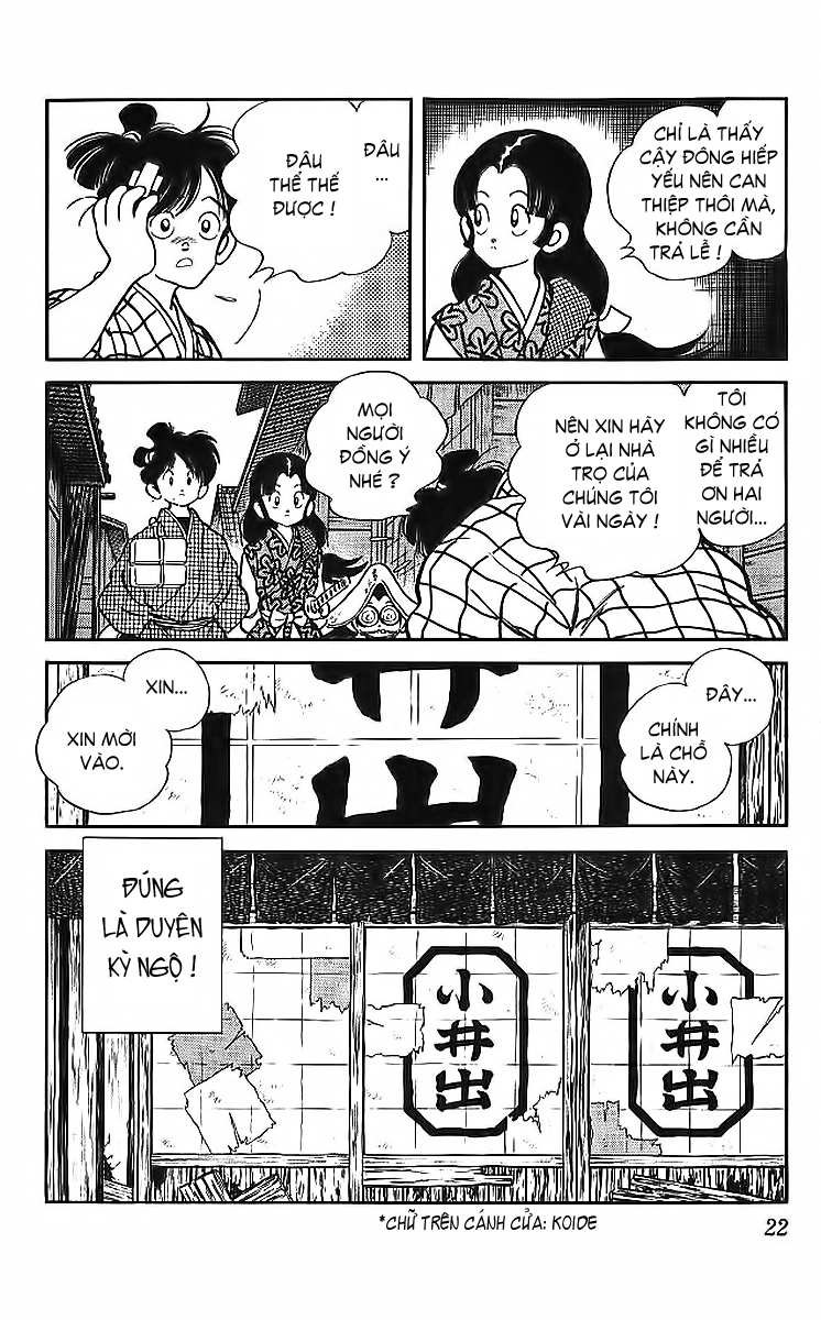 Nijiiro Togarashi - Ớt Bảy Màu chap 40 - Trang 21