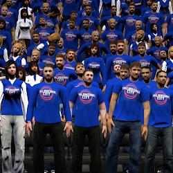 NBA 2K14 OKC Thunder Playoffs Crowd Mod