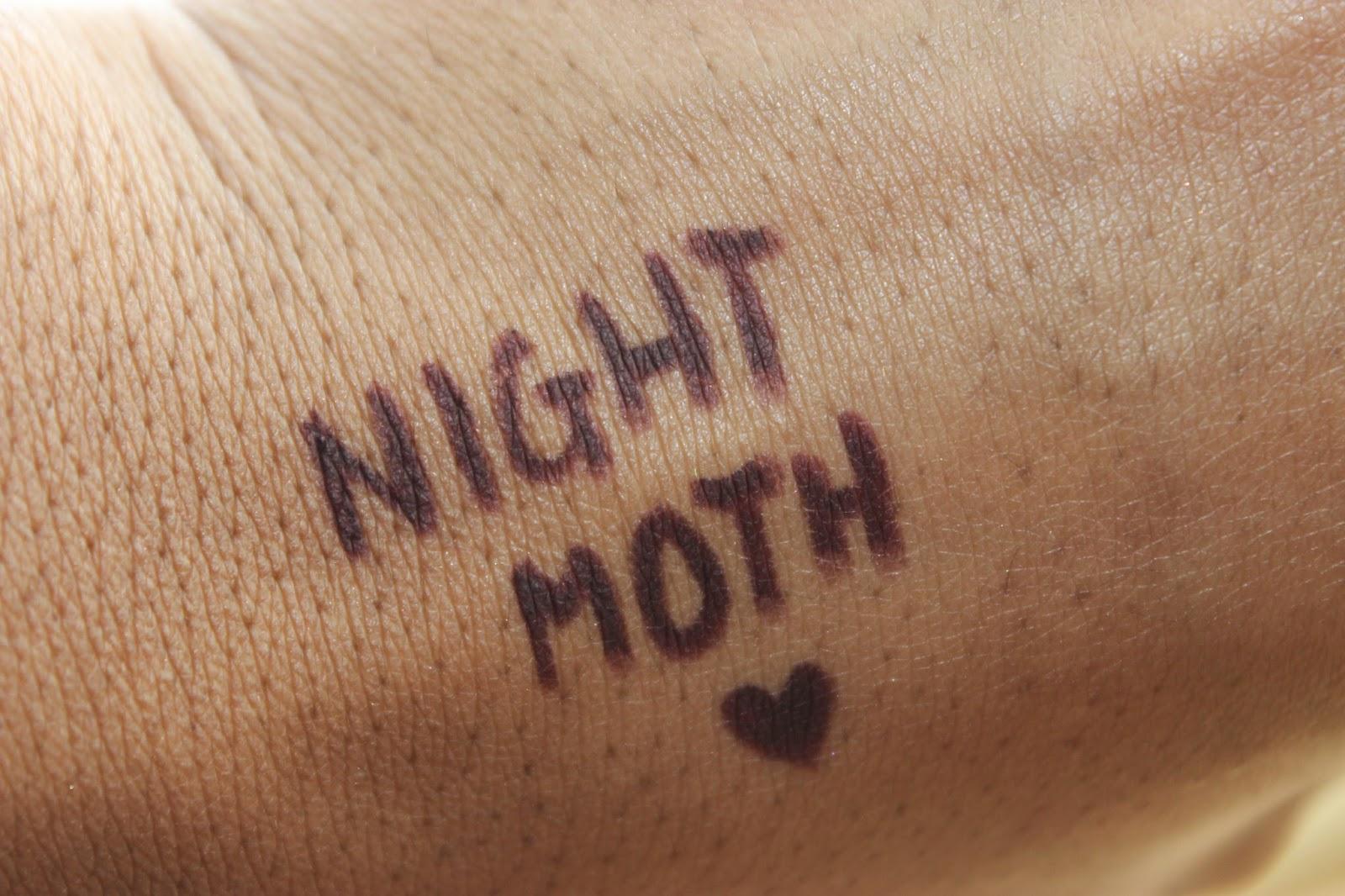 Nightmoth Lip Pencil MAC Cosmetics NC50 Beauty Blogger DiscoveriesofSelf NatalieKayO