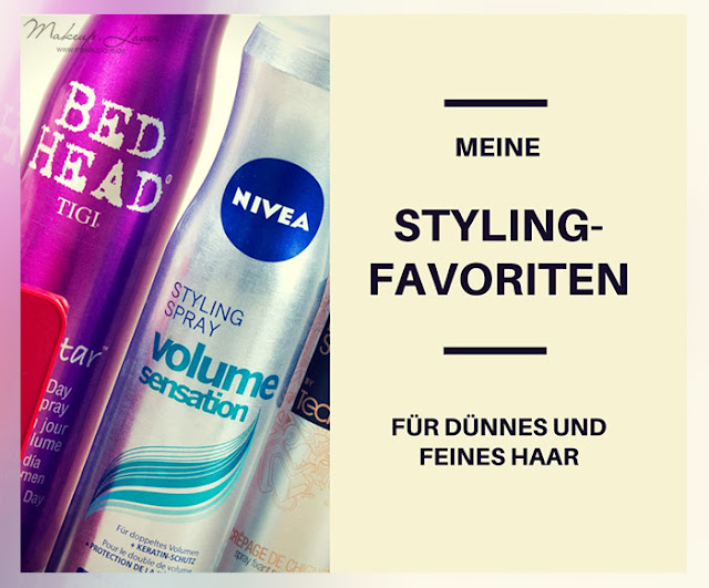Styling Haarspray Haarpaste Volumenspray Volumen feines dünnes Haar