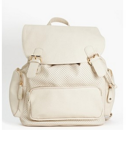 Nastygal Fashionable Backpack White