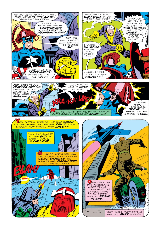 Captain America (1968) Issue #220 #134 - English 5