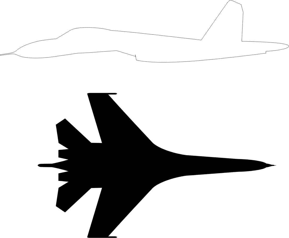 Silueta de avión para pintar - Foto Montajes de Famosos, fotos raras ...