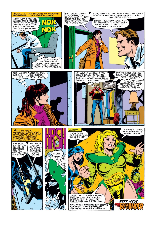 Captain America (1968) Issue #307 #235 - English 23