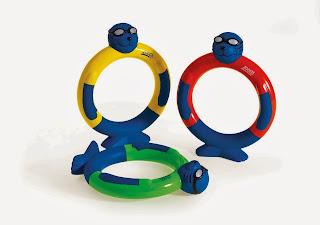 ThatRedheadSaid : Zoggs Dive Rings