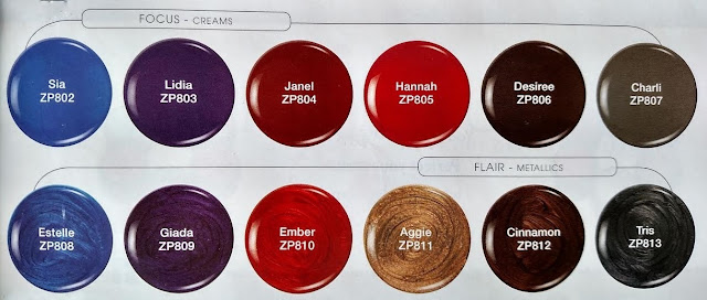 Zoya Focus and Flair Swatches