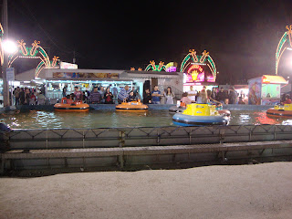 Children Mini-boats photo - Leiria May Fair - Portugal