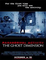pelicula Actividad Paranormal: La Dimensión Fantasma (2015)