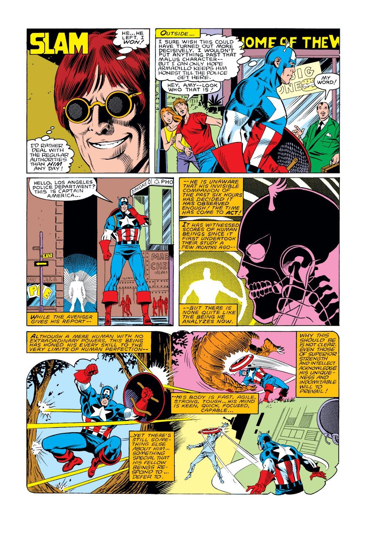 Captain America (1968) Issue #308 #236 - English 20