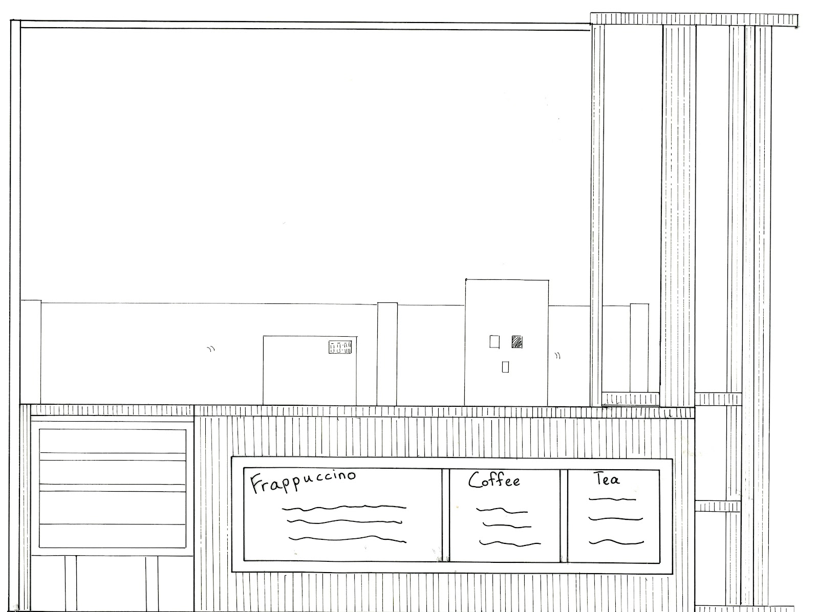starbucks facilities layout These included starbucks' own team, stellar, which handled process  engineering and facility design-build, and the oems that helped in the.