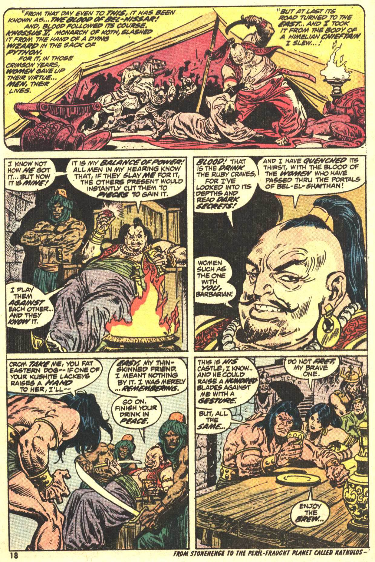 Conan the Barbarian (1970) Issue #27 #39 - English 14