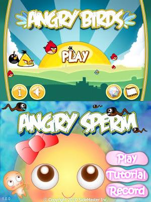 spermsvsbirds2 P*rra! F*deram Angry Birds (literalmente)