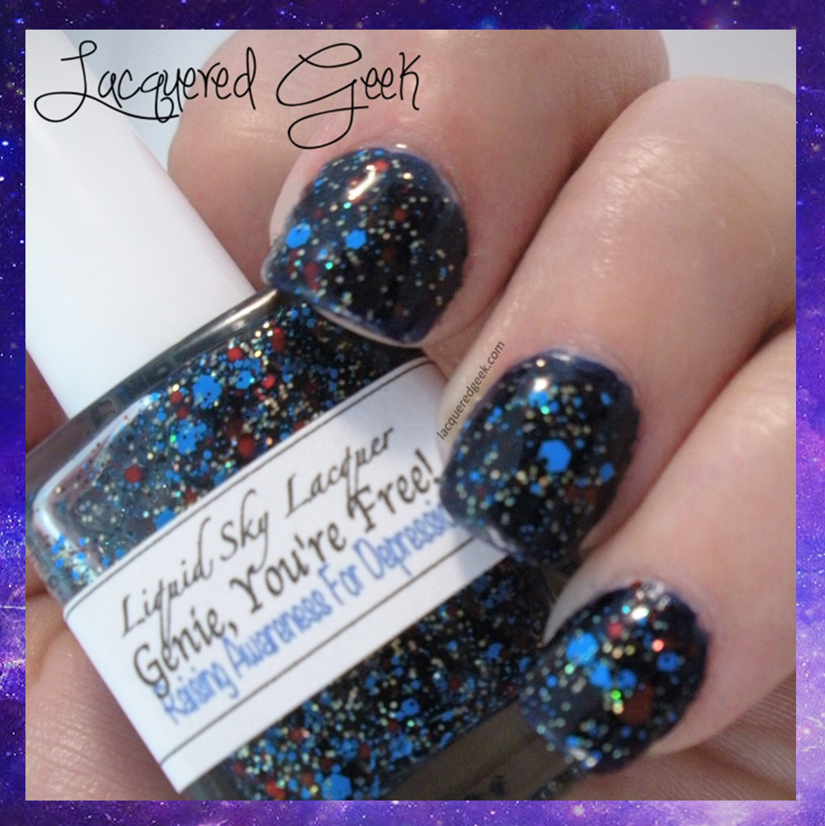 liquid sky lacquer genie you're free