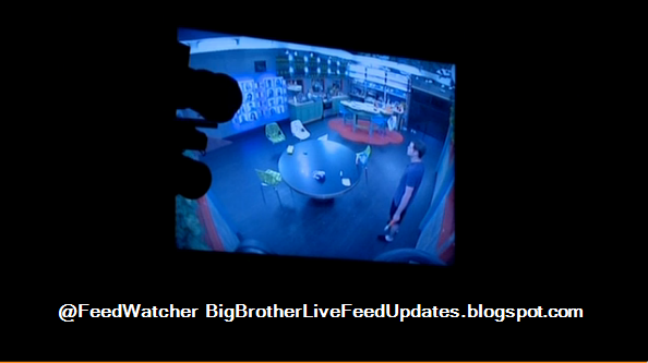 Backyard Pov At Night : Big Brother USA Live Feed Updates Derrick Pulls an All Nighter #BB16