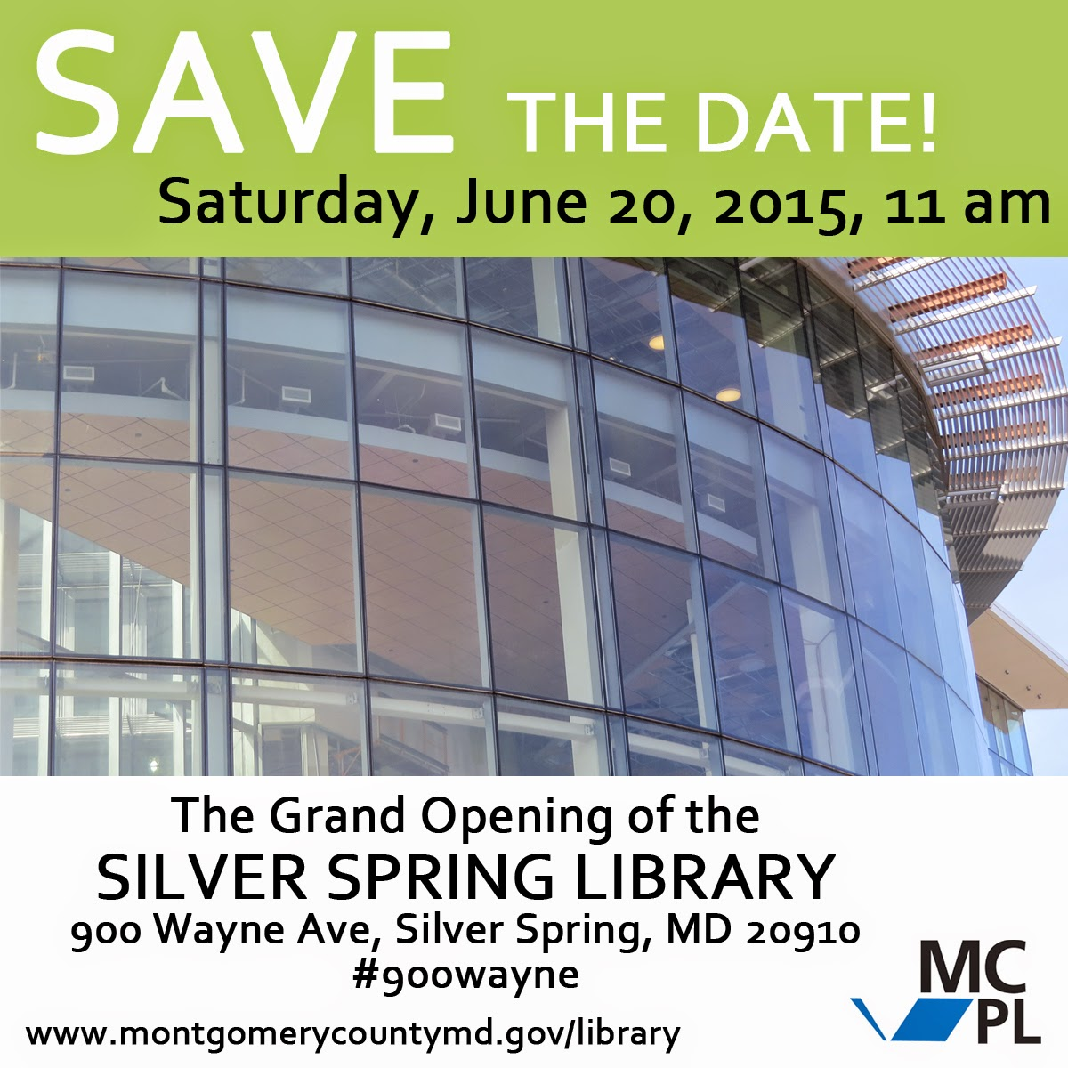 Save the Date! Grand opening June 20, 2015 at 11 am