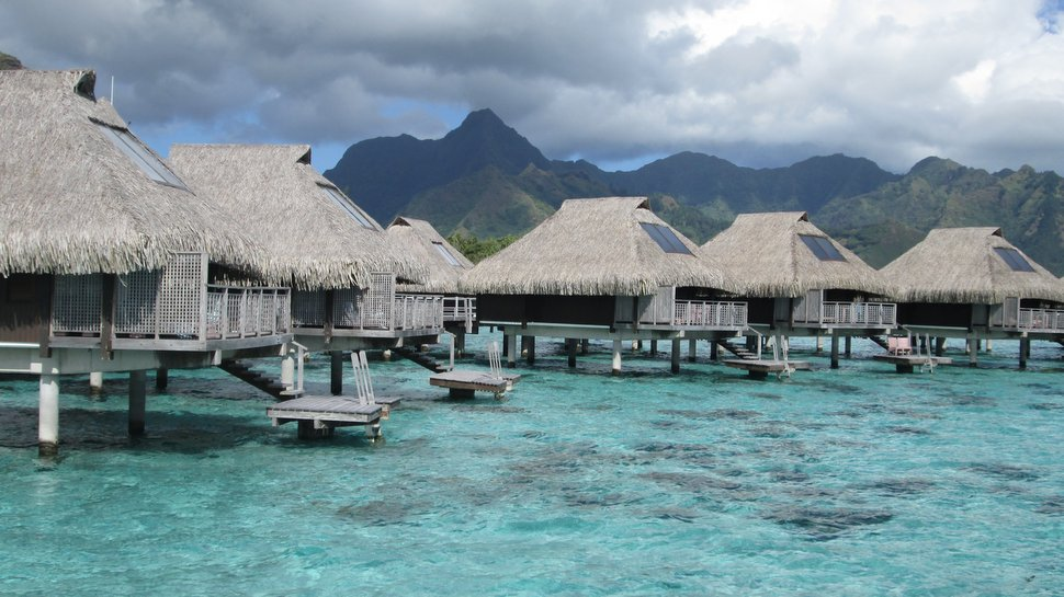 Bungalow lagon du Hilton Moorea Lagoon Resort & Spa