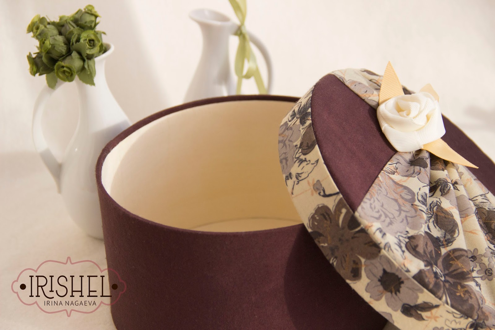 шоколадный цвет, шкатулка в подарок