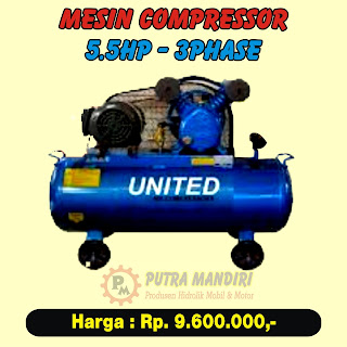 COMPRESSOR 5.5HP-3PHASE