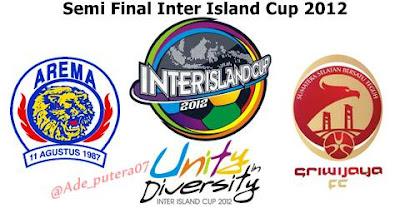 ... vs Sriwijaya Fc Palembang Semi Final Inter Island Cup 2012 16/12/2012