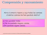 COMPRENSIÓN Y RAZONAMIENTO