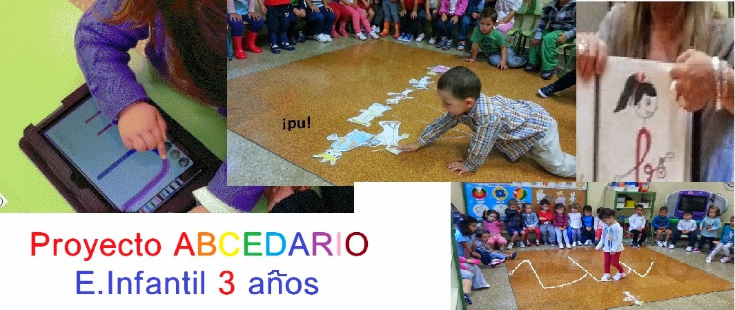 Proyecto ABECEDARIO en Infantil 3 años