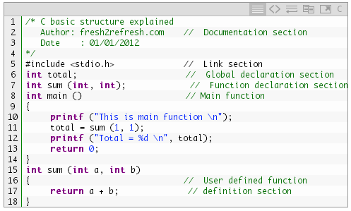 C Basic Tutorial Pdf