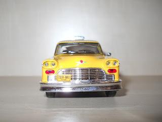maqueta de un taxi de Nueva York
