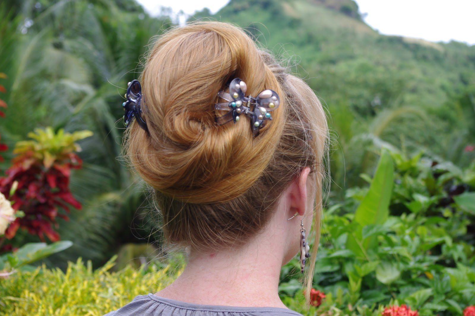 Braids & Hairstyles for Super Long Hair: Beehive Updo~ my look after length pictures