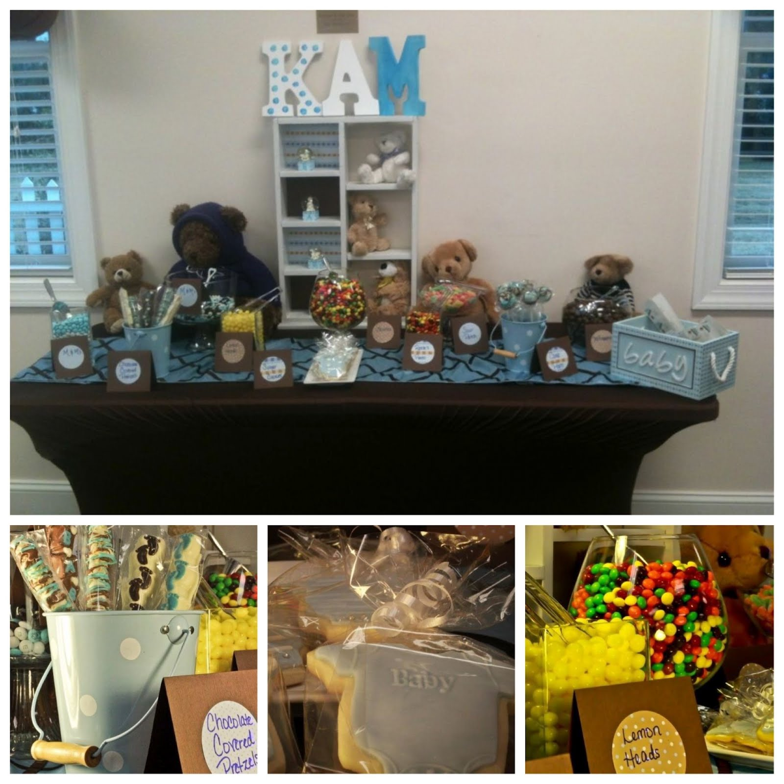pure dymonds events teddy bear inspired baby shower