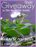 Il mio giveaway