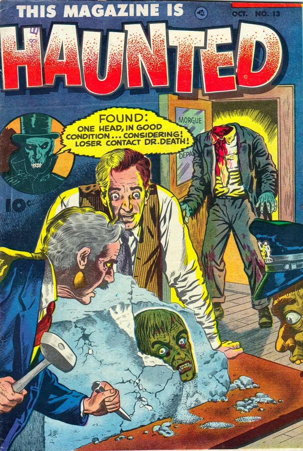 This Magazine Is Haunted 13 -- The Man Who Lost His Head