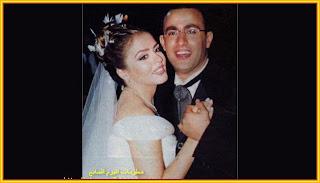 الفنان المصري أحمد السقا وزوجته مها الصغير