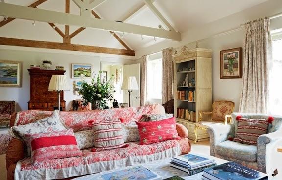 Lismary 39 s cottage un fienile ristrutturato nell 39 hampshire - Cottage inglesi interni ...