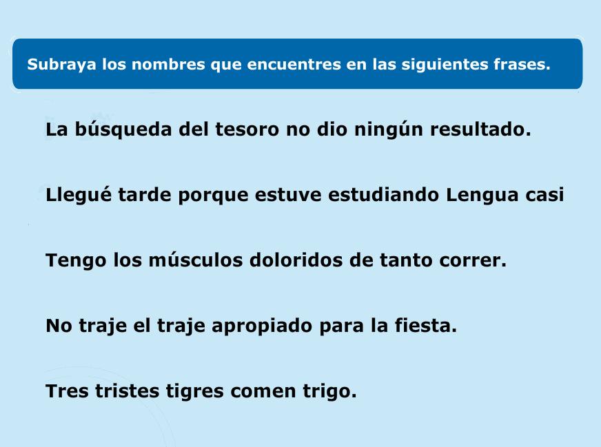 http://www.primerodecarlos.com/TERCERO_PRIMARIA/octubre/Unidad3/actividades/lengua/el_nombre/indice.swf