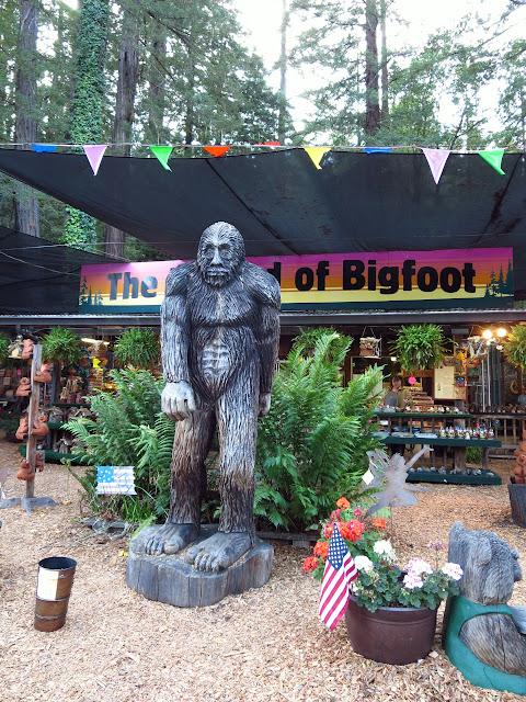 Legend of Bigfoot California
