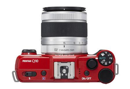 Lens and Buttons Shutter Pentax Q10