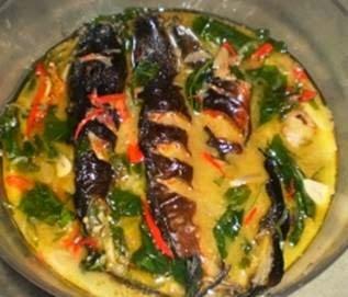 Ikan Pari Kuah Santan