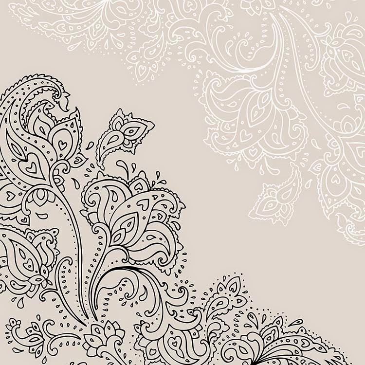; tattoo; mhendi; mandala; latar belakang; bunga; persian; desain ...